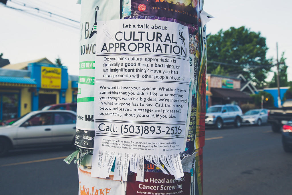 Cultural Appropriation Poster